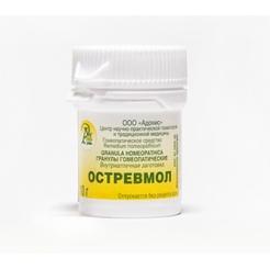 Гранулы гомеопатические «Остревмол»10гр.